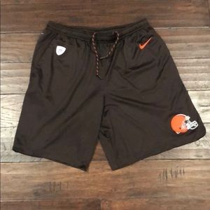 Cleveland Browns Nike Dri Fit shorts